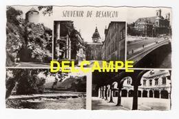 DF / 25 DOUBS / BESANÇON / PORTE TAILLÉE, PONT BATTANT, SQUARE CASTAN, CATHÉDRALE, LE DOUBS À MICAUD, CLOÎTRE - Besancon