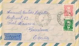 35106. Carta Aerea ARAGUARI MANNA (Minas Gerais) Brasil 1968. - Brazilië