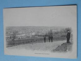 "CORBEIL ESSONNES -- Panorama De Corbeil Vers 1900 - Cpa ""précurseur"" ANIMEE - Corbeil Essonnes"