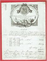 FACTURE MANUFACTURE VELOURS ET DRAPS COTON GODET DELEPINE A ROUEN POUR LE ROUX A CHARTRES 15 FRUCTIDOR AN XI 2 SEPT 1803 - Francia