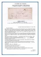 GUERRE DE CRIMEE - Lettre à Entête Garde Impériale - Càd ARMEE D'ORIENT QUARTIER GENERAL Du 12/03/1855 + TX 30c - Wars