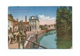 Kortrijk - Zicht Der Oude Kleine Leye.  Courtrai - Vue De La Vieille Petite Lys (1920). - Kortrijk