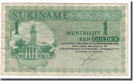 BILLET SURINAM 1 GULDEN - Surinam