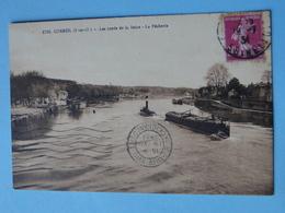 CORBEIL ESSONNES -- Remorqueur Vapeur & Péniche Sur La Seine - Corbeil Essonnes
