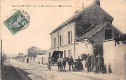 MONTHLERY - Route De Marcoussis - Attelage - Montlhery