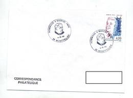 Lettre  Cachet Montpellier Hommage Paul - Poststempel (Briefe)