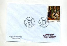 Lettre  Cachet Perros Guirec   Maurice Denis - Poststempel (Briefe)