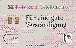 GERMANY A27/91 Telekom Düsseldorf - 1.Auflage (DD 1108) - Germany