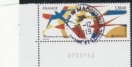 FRANCE 2019 EUROPA FAUNE OISEAUX NATIONAUX YT 5320 OBLITERE A DATE - Oblitérés