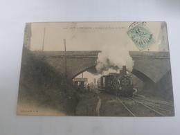 35 - DOL DE BRETAGNE - Le Départ Du Train De St Malo - 1020 - Dol De Bretagne