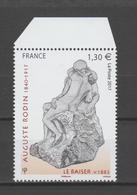 "FRANCE / 2017 / Y&T N° 5168 ** : ""Le Baiser"" (Auguste Rodin) X 1 - BdF Haut - Frankreich"