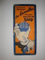 Carte Routière Michelin 1939 Avignon Digne, Les Lamelles Du Pneu Michelin Stop. - Cartes Routières