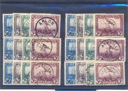 Nrs.PA1/PA4 6 X Met Mooie Stempels - Luftpost
