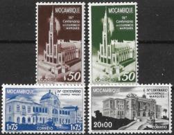 Mocambique – 1944 Lourenço Marques Centennary Complete MNH Set - Mosambik
