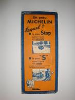 Carte Routière Michelin 1939 Marseille Menton,le Pneu S - Cartes