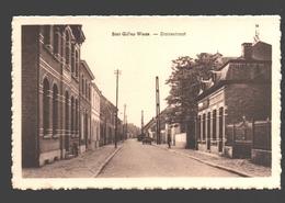 Sint-Gillis-Waas - Statiestraat - Uitgave Em. Van Den Bosch (Kruidenierswaren) - Sint-Gillis-Waas