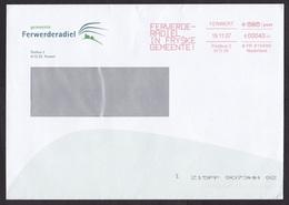 Netherlands: Cover, 2007, TNT Meter Cancel, Municipality Ferwerderadiel, Frisia, Frisian Language (minor Creases) - Period 1980-... (Beatrix)