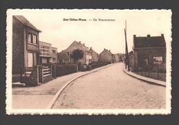 Sint-Gillis-Waas - De Nieuwstraat - Uitgave Em. Van Den Bosch - Sint-Gillis-Waas