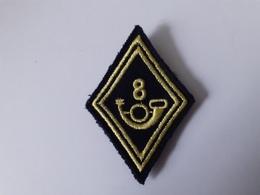 8ème Bataillon De Chasseurs - Ecusson De Bras M 1945 - Patches