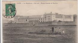 CAEN LA MALADRERIE COTE SUD MAISON CENTRALE DE BEAULIEU 1914 TBE - Caen