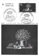 FETE DU TIMBRE 1980 DE REMIREMONT DU 08/03/80 - Gedenkstempel