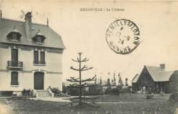 50 - REGNEVILLE - Le Chateau En 1924 - Autres Communes