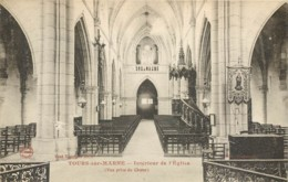 51 - TOURS SUR MARNE - Intérieur De L'Eglise - Otros Municipios