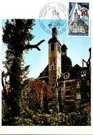 Carte 1er Jour : Paris Institut Universitaire Des Carmes - Christianisme