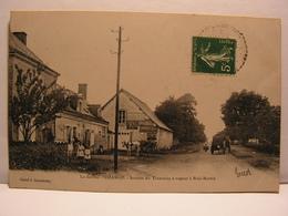 CPA 72 SARTHE CHANGE STATION DE TRAMWAY A VAPEUR A BOIS MARTIN 577 - Frankrijk
