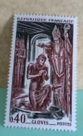 France (Clovis) 1966 Neuf (Y&T N°1496) - Coté 0,40€ (Timbres En Très Bon état Garantie) - France
