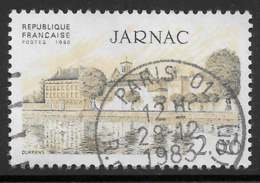 Maury 2293 - 2 F Jarnac - O - Oblitérés