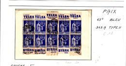 50 Carnet Pub Reconstitué 65 C Paix Byrrh Et Téléa - Reclame