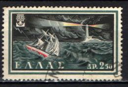 GRECIA - 1960 - ANNO INTERNAZIONALE DEL RIFUGIATO - USATO - Oblitérés