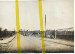 02 AISNE CHAVIGNON Canton FERE EN TARDENOIS  PHOTO ALLEMANDE MILITARIA 1914/1918 WK1 WW1 - Altri Comuni