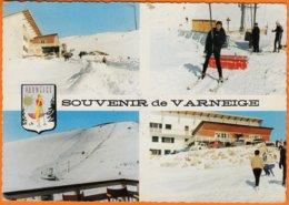 83     VARNEIGE   Var    Souvenir  4  VUES        CPSM     Postée  à  83  LA BASTIDE    Le 3 1 1969   Num  Voir VOITURES - France