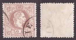 Austria, 50 Kreuzer Stampa Grossolana Del 1867 Usato          -CK44 - 1850-1918 Imperium