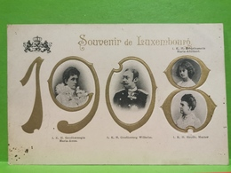 Luxembourg, 1908. Famille Grand-Ducale - Autres