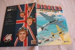 BIGGLES   LE CYGNE JAUNE  EDITIONS  LEFRANCQ  CARTONNEE  EO 1990  COMME NEUVE - Biggles