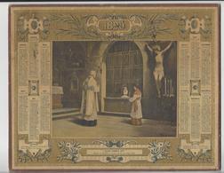 CALENDRIER ALMANACH DES POSTES 1899 ECCE AGNUS DEI /FREE SHIPPING REGISTERED - Calendriers
