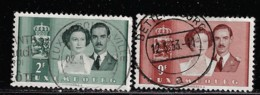 LUXEMBOURG A 1953 SCOTT 288,291 CANCELLED CATALOGUE VALUE US$1.45 - Usati