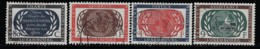 LUXEMBOURG A 1955 SCOTT 306-309 CANCELLED CATALOGUE VALUE US$6.75 - Usati