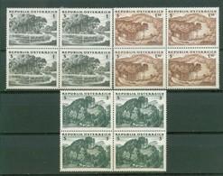 Austria 1962 Wald, In Viererblock, MNH** - 1945-.... 2nd Republic