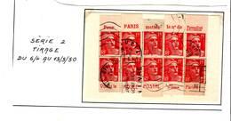 54 Carnet Pub Reconstitué 15 F Gandon Musée Postal Et Arrondissement Paris - Reclame