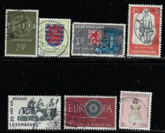 LUXEMBOURG A 1959-60 SCOTT 354... See Description  CATALOGUE VALUE US$2.85 - Usati