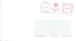 EMA-Milano-10/3/1999-Hotel Michelangelo /Milano - Machine Stamps (ATM)