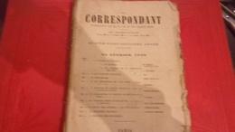 Revue Le Correspondant 10 FEV 1910 CHOPIN/CALVCORESSI/ GENERAL BERTRAND/EUGENE DE BUDE .. - 1900 - 1949