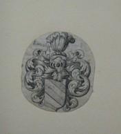 Ex-libris Héraldique XVIIIème - LAVATER - Ex Libris