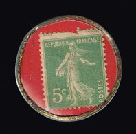 Timbre Monnaie Charbon BRETON 50 Quai De La Rapée. PARIS - Autres