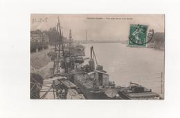 Choisy Le Roi En 1908..3 CP..1/ La Rive Droite,2/ La Rive Gauche,3/ Vue Sur La Seine..Voir Scan. - Choisy Le Roi