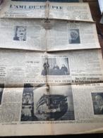 L AMI DU PEUPLE /UNION NATIONALE TAITTINGER /CLAUDE FARRERE PIERRE BENOIT /NOEL PINELLI - Zeitungen